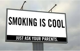 Smoking is cool