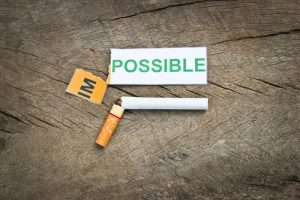 Giving up smoking is possible