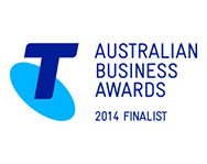 Australian Business Awards 2014 Finalist