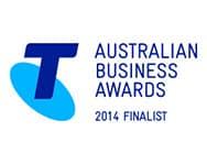 Australian Business Awards 2014 Finalist