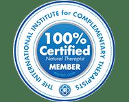100% Certified Member Logo