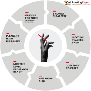 Smoking cycle of addiction